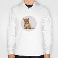 whisky Hoodies featuring Whisky, the Kitty by Gersin@Albatrostudio