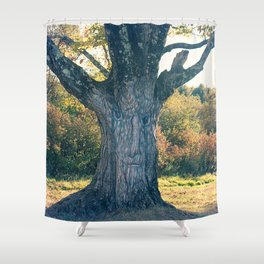 Green Man in the Tree Shower Curtain