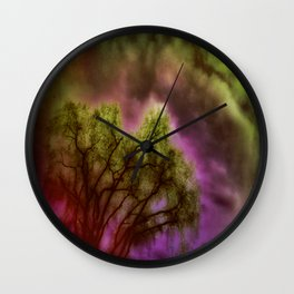 Cosmic Illusions Wall Clock