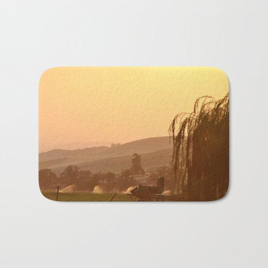 SUNSET OVER EASTERN OREGON Bath Mat