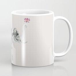 Elephant Skeleton: Floral Anatomy Coffee Mug