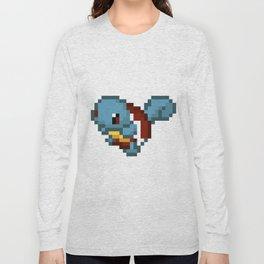 Squirtle pixel art Long Sleeve T-shirt