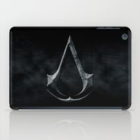 assassins creed iPad Cases featuring Assassins Creed Dark Stone  by alifart