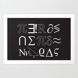 Nerds, Nerds Nerds! Art Print