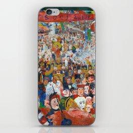 James Ensor Entry into Brussels iPhone Skin