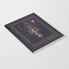 La Maison Dieu or The Tower Tarot Notebook