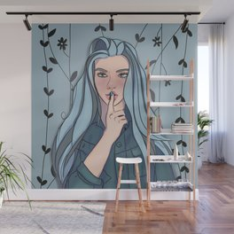 Whisper Secrets in the Garden Wall Mural