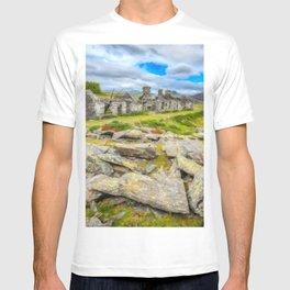 Rhos Quarry Cottages Snowdonia T-shirt