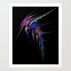 Electric Storm Art Print
