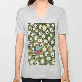 Pingo's People (Dare to be Different!) Unisex V-Neck