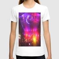 coachella T-shirts featuring Midnight City M83 Coachella by The Electric Blve / YenHsiang Liang