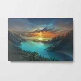 Just below Horizon Metal Print