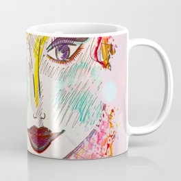 I Will Think of A Mermaid Lagoon, Underneath Magic Moon ~Wendy Coffee Mug