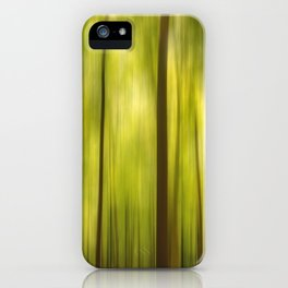 Warmth of the Forests Colors iPhone Case