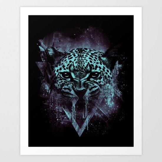 WILD COSMIC Art Print
