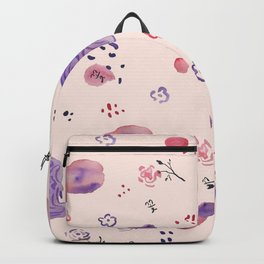 Roses and Rocks Backpack