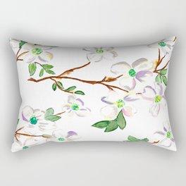 Dogwoods Rectangular Pillow