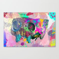A framework of bone Canvas Print
