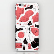 Scribbles iPhone & iPod Skin