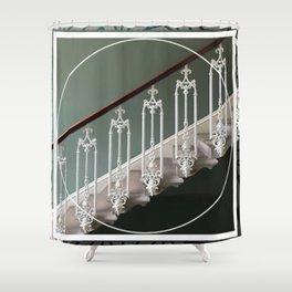 Stairway to Heaven - graphic design Shower Curtain