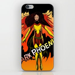 Dark Phoenix iPhone Skin
