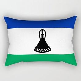 Flag of Lesotho Rectangular Pillow