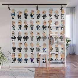 45 Presidents of the U.S.A. Wall Mural