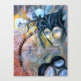 Birth of Pearl Canvas Print