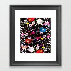 night danse Framed Art Print