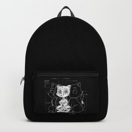 Cat Inside Backpack