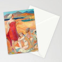 Maurice Denis  - Odysseus Awakening - Digital Remastered Edition Stationery Cards
