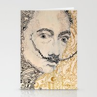 dali Stationery Cards featuring Dali by Gribouilliz