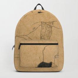Egon Schiele Lovers Backpack