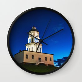 Halifax Town Clock - Blue Hour Wall Clock