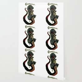 Gorosaurus Kaiju Print FC Wallpaper