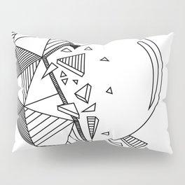 Geometrical Heart Pillow Sham