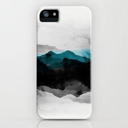 nature montains landscape iPhone Case
