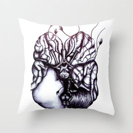 Without glucose, the brain can function for 2 min. Without oxygen, the brain can function for 8 min. Throw Pillow