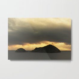 Isolated islet Metal Print