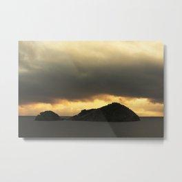 Isolated islet Metal Print