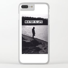 #WATERISLIFE fig. 1 Clear iPhone Case
