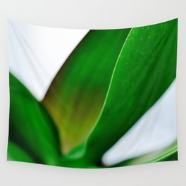 Orchid leaves Wall Tapestry