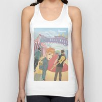 paramore Tank Tops featuring Paramore - Welcome to Real World by Zinenkoij