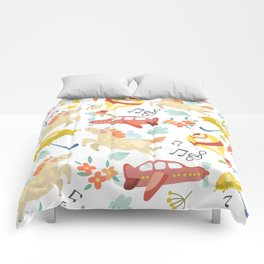 Unicorn Song Comforters
