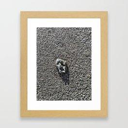 The Last Rock On Earth. Framed Art Print