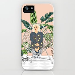 girl in the room iPhone Case