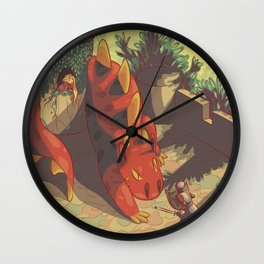 The Dragon's Castle Wall Clock