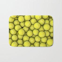 Tennis balls Bath Mat