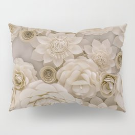 Paper Bouquet Pillow Sham