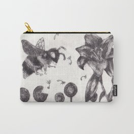 Bee Happy 3 Carry-All Pouch